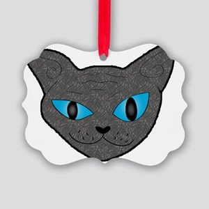 Sphynx Kitty Picture Ornament