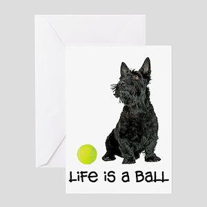 Scottish Terrier Li... Greeting Card