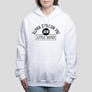Alpha Epsilon Phi Little Women's Hooded Sweatshirt