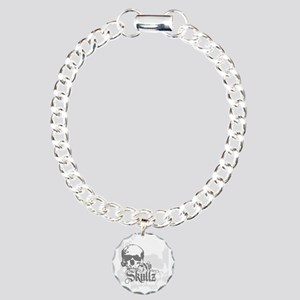 ns_Square_Wine_867_H_F Charm Bracelet, One Charm