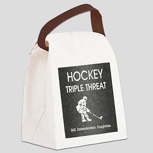 hockeysdt1 Canvas Lunch Bag