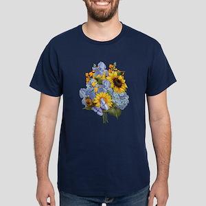 Summer Bouquet Dark T-Shirt
