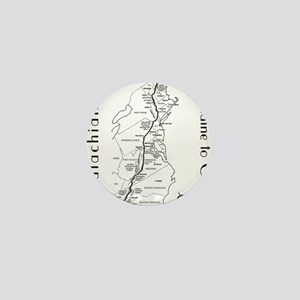 Appalachian Trail Map Mini Button