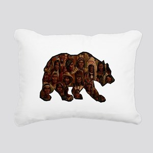 TRIBUTE TO MANY Rectangular Canvas Pillow