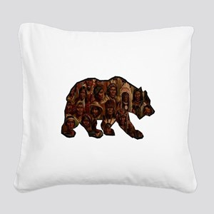 TRIBUTE TO MANY Square Canvas Pillow
