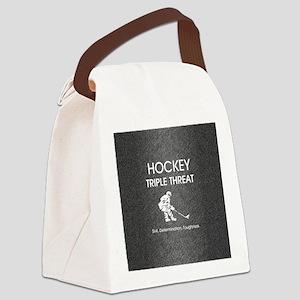 hockeysdtsq Canvas Lunch Bag