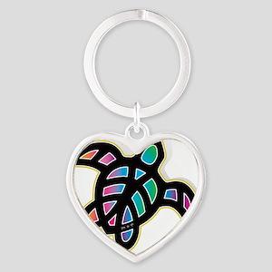 see turtle heart Heart Keychain