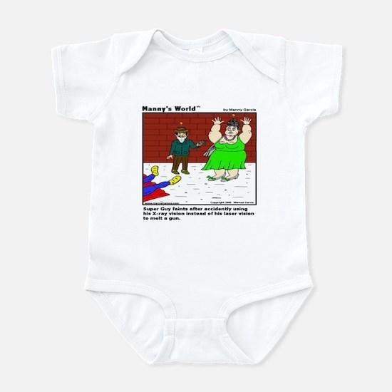 SUPERGUY FAINTS! Infant Bodysuit