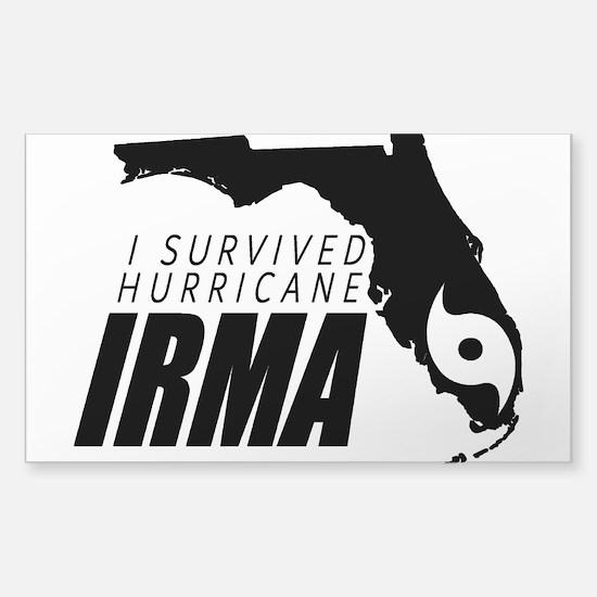 I Survived Hurricane Irma Decal