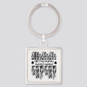 Super Hyphy Square Keychain
