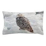 Snowy Owl Pillow Case
