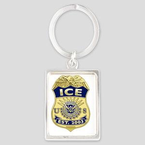 ICE Portrait Keychain