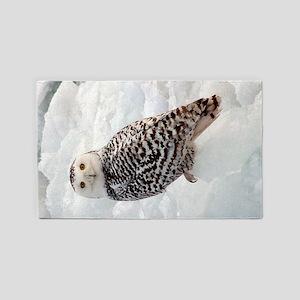 Snowy Owl Area Rug