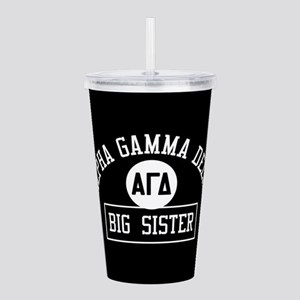 Alpha Gamma Delta Big Acrylic Double-wall Tumbler