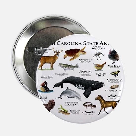 "South Carolina State Animals 2.25"" Button"