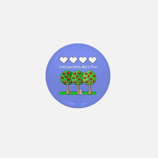 Love the Earth: Earth Day Mini Button