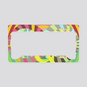 peace and love 2-14-13 License Plate Holder