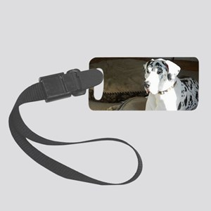 great dane Small Luggage Tag