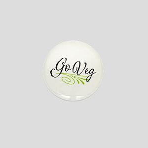 Go Veg Mini Button