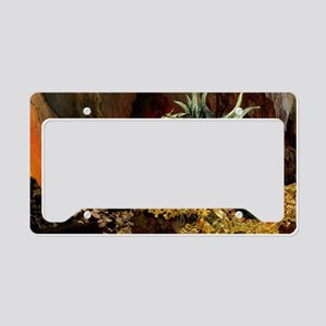 Dragons Lair poss oval License Plate Holder