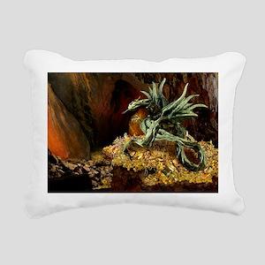Dragons Lair poss oval Rectangular Canvas Pillow