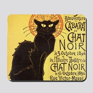 Chat Noir Cat Mousepad