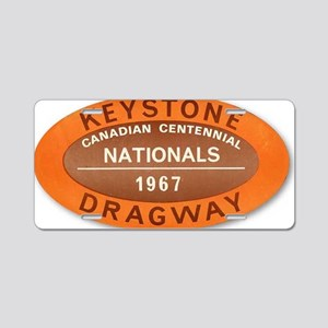 Canadian Nationals Aluminum License Plate