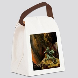 Dragons Lair full light Canvas Lunch Bag