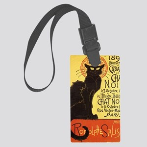 Chat Noir Cat Large Luggage Tag