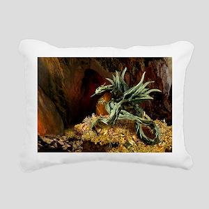 Dragons Lair poss oval2 Rectangular Canvas Pillow