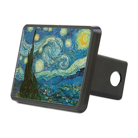 Starry Night van Gogh Rectangular Hitch Cover