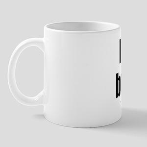 I Love My Bourbon lightapparel Mug