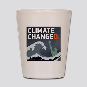 Climate ChangeD Shot Glass
