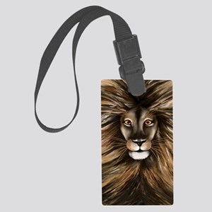 Journal Big Cat Large Luggage Tag