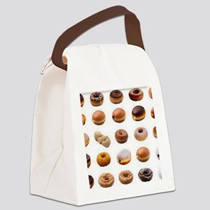 Doughnuts Canvas Lunch Bag