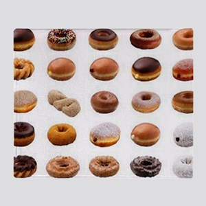 Doughnuts Throw Blanket