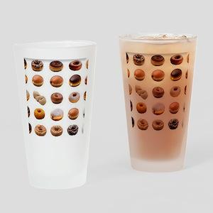 Doughnuts Drinking Glass