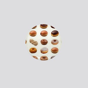 Doughnuts Mini Button