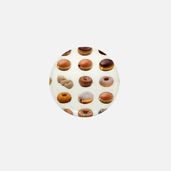 Doughnuts Mini Button