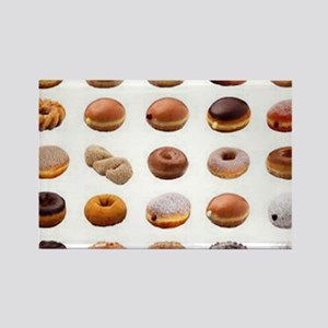 Doughnuts Rectangle Magnet