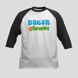 Baker in Training Kids Baseball Jersey