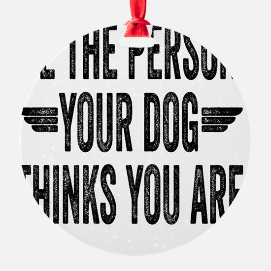 Be The Person Your Dog Thinks You A Ornament