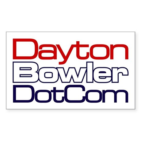 DaytonBowler.com Sticker