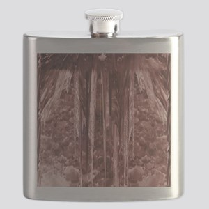Cranberry Stalactite Flask