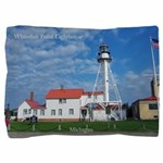 Whitefish Point Lighthouse Pillow Sham