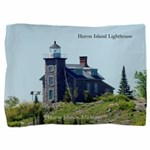 Huron Island Lighthouse Pillow Sham
