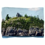 Huron Island Lighthouse Wide Angle Pillow Sham