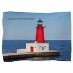 Menominee North Pierhead Light Pillow Sham