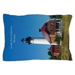 Au Sable Point Lighthouse Pillow Case