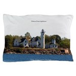 Tibbetts Point Lighthouse Pillow Case